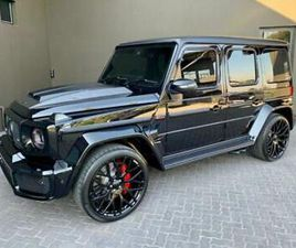 MERCEDES-BENZ G63 AMG BRABUS 700 4.0 ( 700BHP ) 4X4 SPEEDSHIFT PLUS 9G-TRONIC