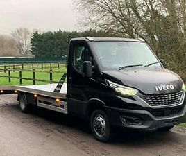 2021 IVECO DAILY 5.2T ALUMINIUM RECOVERY TRUCK CAR TRANSPORTER