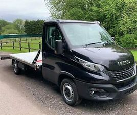 2020 IVECO DAILY 160BHP BLACK RECOVERY TRUCK CAR TRANSPORTER FULL ALUMINIUM BODY