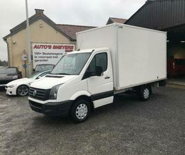② VOLKSWAGEN CRAFTER CITY/BOX 163PK 2016 AIRCO/NAVI 16950E - CAMIONNETTES & UTILITAIRES