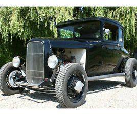 TRADITIONAL FORD MODEL A V8 FLATTIE HOT ROD , ALL STEEL. NOW SOLD