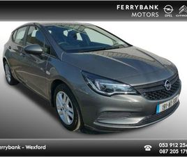 OPEL ASTRA S 1.0 TURBO 105PS 5DR FOR SALE IN WEXFORD FOR €17,950 ON DONEDEAL