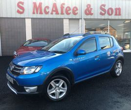 DACIA SANDERO STEPWAY 1.5 DCI LAUREATE 5DR£20 ROAD TAX