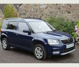 SKODA YETI 1.6 TDI CR GREENLINE II S SUV 5DR DIESEL (S/S) (105 PS)FLEXIBLE FINANCE AVAILAB