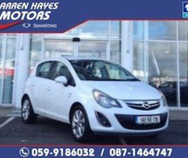 OPEL CORSA 1.2I VVT LIMITED EDITION FOR SALE IN CARLOW FOR €7445 ON DONEDEAL