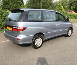 TOYOTA PREVIA 2.0 D-4D GS 5DR (8 SEAT)EIGHT FACTORY SEATS GENUINE UK