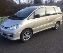 TOYOTA PREVIA 2.0 D-4D T SPIRIT 5DR (7 SEATS)ONE PRIVATE OWNER FSH NICE
