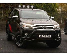 TOYOTA HILUX SPECIAL EDITIONS 50TH EDITION D/CAB (NAV) 2.4 D-4D AUTO