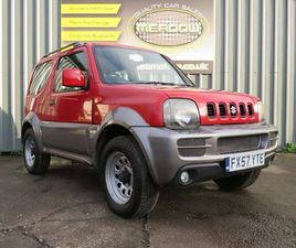 SUZUKI JIMNY 1.3 JLX 3DRGREAT FINANCE DEALS AVAILABLE