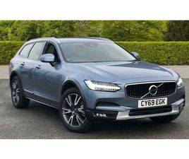 2019 VOLVO V90 2.0 D4 CROSS COUNTRY PLUS 5DR AWD GEARTRONIC
