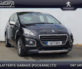 PEUGEOT 3008 1.6 HDI ACTIVE 112BHP 5DR FOR SALE IN TIPPERARY FOR €11995 ON DONEDEAL