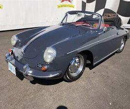 1962 PORSCHE 356 1600CC B CONVERTIBLE, 1500KM SINCE COMPLETE REBUILD