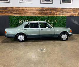 1990 MERCEDES-BENZ 560SEL EURO SPEC