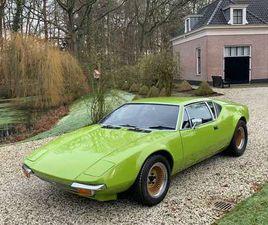 DE TOMASO PANTERA V8 1971 LIME GREEN 1E SERIE #GHIA
