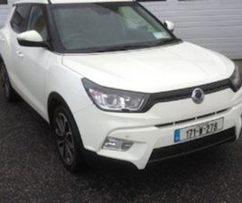 SSANGYONG TIVOLI 2017 SSANGYONG TIVOLI SE ES 2WD FOR SALE IN WATERFORD FOR €17995 ON DONED