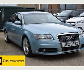 AUDI A6 SALOON 2.4 S LINE CVT 4DRONE OWNER FROM NEW + WARRANTY