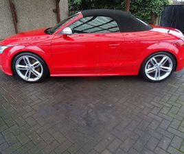 AUDI TTS 2.0 TFSI ROADSTER QUATTRO 2DRFULL SERVICE HISTORY/12 STAMPS