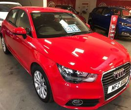AUDI A1 1.4 TFSI SPORT SPORTBACK 5DR PETROL MANUAL (126 G/KM, 120 BHP)LOVELY VEHICLE MINT