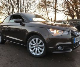 AUDI A1 1.4 TFSI SPORT S TRONIC 3DR1 OWNER, FSH, 6 MONTH WARRANTY