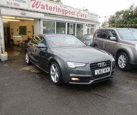 AUDI A5 1.8 TFSI S LINE SPORTBACK 5DRF/S/H,LEATHER,2OWNERS,2 KEYS!!