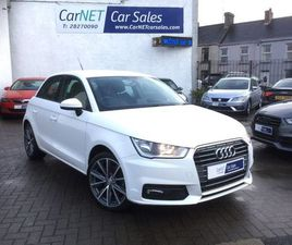 AUDI A1 1.4 TFSI SPORT SPORTBACK (S/S) 5DR17€ UPGRADED ALLOYS
