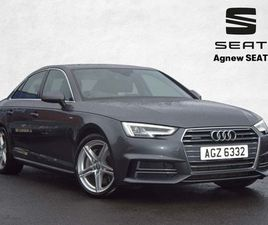 AUDI A4 3.0 TDI V6 S LINE TIPTRONIC QUATTRO (S/S) 4DR18ALLOYS-BLUETOOTH-LEATHER