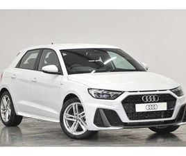 2019 AUDI A1 SPORTBACK S LINE 30 TFSI 116 PS 6-SPEED