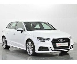 2019 AUDI A3 SPORTBACK S LINE 35 TDI 150 PS 6-SPEED