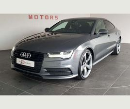 AUDI A7 3.0 TDI V6 BLACK EDITION SPORTBACK S TRONIC QUATTRO (S/S) 5DR£5735 OF FACTORY EXT
