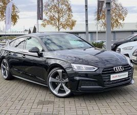 2019 AUDI A5 40 TFSI BLACK EDITION 5DR S TRONIC