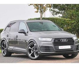 2019 AUDI Q7 BLACK EDITION 50 TDI QUATTRO 286 PS TIPTRONIC