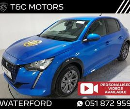 PEUGEOT 208 E-208 ALLURE FULLY ELECTRIC WITH 340 FOR SALE IN WATERFORD FOR €30,826 ON DONE
