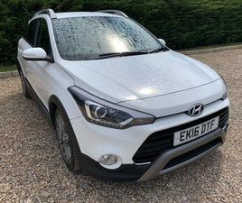 HYUNDAI I20 1.0 T-GDI ACTIVE (S/S) 5DRFSH UNMARKED THROUGHOUT