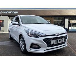 2019 HYUNDAI I20 1.2 MPI S CONNECT 5DR