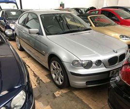 BMW 3 SERIES 2.0 320TD SE COMPACT 3DR SILVER 2003