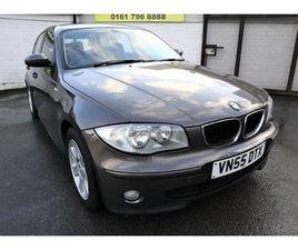 2005 BMW 1 SERIES 2.0 118I SE 5D 128 BHP