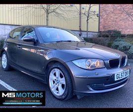 BMW 1 SERIES 2.0 120D SE 5DRFSH, FULL MOT, HPI CLEAR