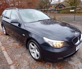 £2,980|BMW 5 SERIES 2.0 520D SE BUSINESS EDITION TOURING 5DR