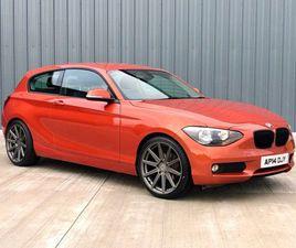 2014 BMW 1 SERIES 1.6 116D EFFICIENTDYNAMICS 3D 114 BHP