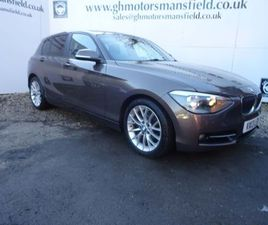 BMW 1 SERIES 2.0 116D SPORT 5DRSOLD SUBJECT FINANCE