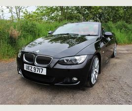 BMW 3 SERIES 3.0 325I M SPORT 2DRRED LEATHER, XENONS, ONLY 60K