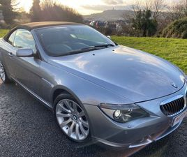 BMW 6 SERIES 4.8 650I CONVERTIBLE 2DR PETROL AUTOMATIC (258 G/KM, 367 BHP)FULL SERVICE HIS