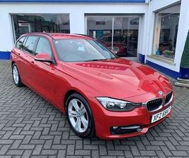 BMW 3 SERIES 320D SPORT TOURING RED 2013