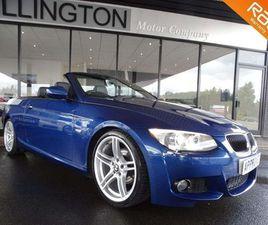BMW 3 SERIES 2.0 320I M SPORT 2DRBLACK LEATHER+£1800 EXTRAS