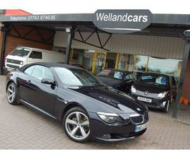 2008 BMW 6 SERIES 635 3.0TD SPORT CONVERTIBLE AUTOMATIC 1 FORMER KEEPER FULL SERVICE HISTO
