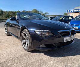 £9,995 BMW 6 SERIES 3.0 635D SPORT 2DR