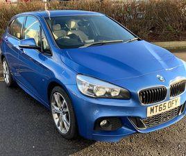 2015 BMW 2 SERIES 216D M SPORT ACTIVE TOURER