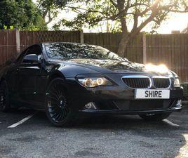 2010 BMW 6 SERIES 3.0 635D SPORT 2D AUTO 282 BHP