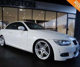 BMW 3 SERIES 2.0 320D M SPORT 2DRLEATHER+NAV+£2000 EXTRAS