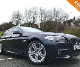 BMW 5 SERIES 3.0 530D M SPORT TOURING 5DR+FSH+£8000 WORTH OF OPTIONS+